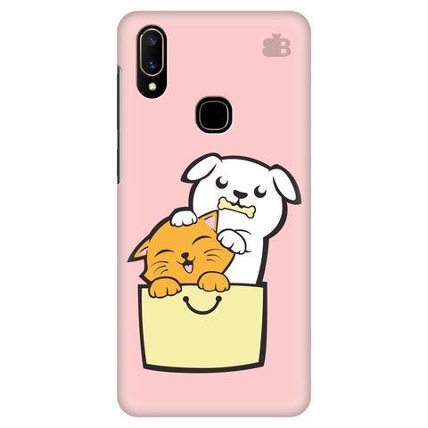 Kitty Puppy Buddies Vivo V11 Cover