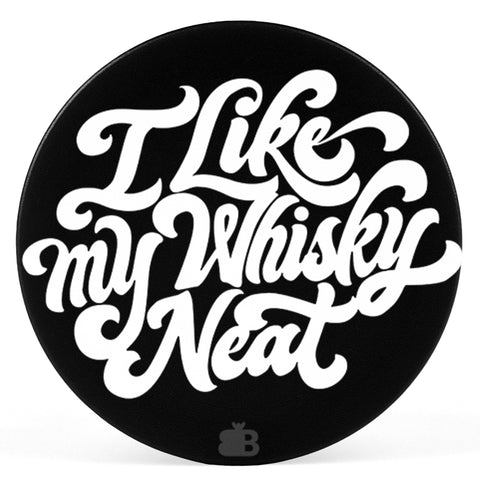 Whiskey Neat Pop Holder