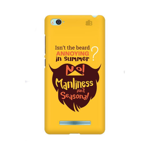 Beard Brown Xiaom Mi 4i Phone Cover