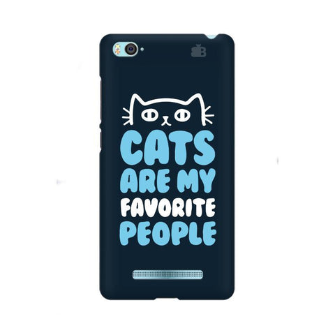 Cats favorite People Xiaom Mi 4i Phone Cover
