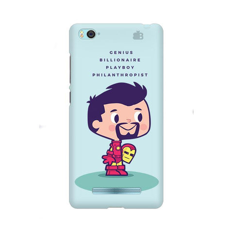 Clever Superhero Xiaom Mi 4i Phone Cover