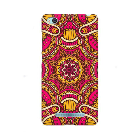 Colorful Ethnic Art Xiaom Mi 4i Phone Cover
