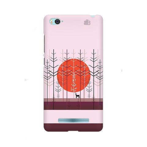 Deer in Forest Xiaom Mi 4i Phone Cover