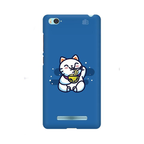 KItty eating Noodles Xiaom Mi 4i Phone Cover