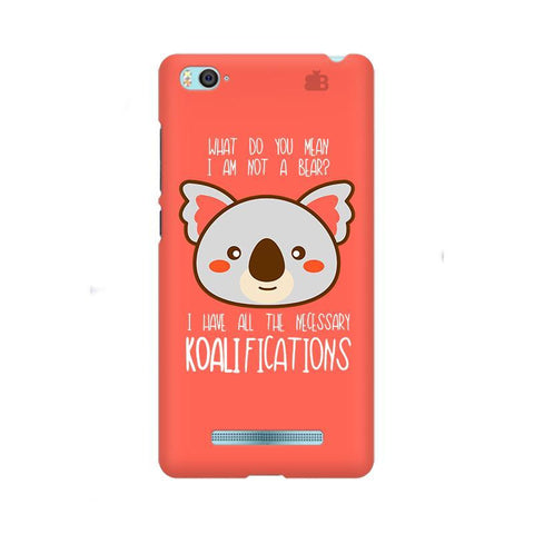 Koalifications Xiaom Mi 4i Phone Cover