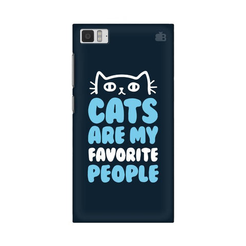 Cats favorite People Xiaomi Mi 3 Phone Cover