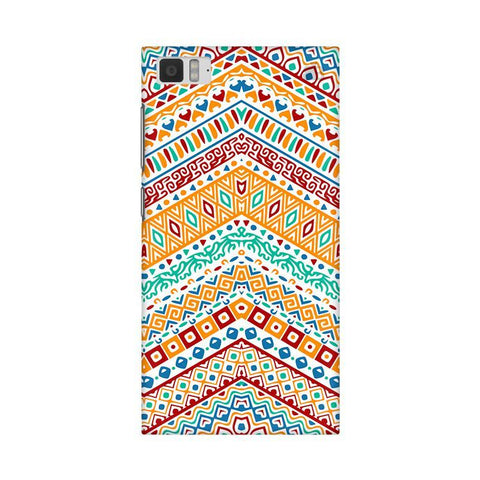 Wavy Ethnic Art Xiaomi Mi 3 Phone Cover