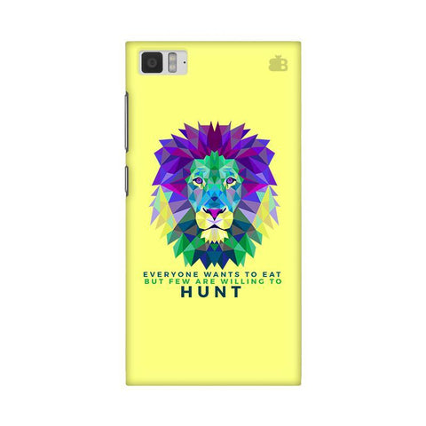 Willing to Hunt Xiaomi Mi 3 Phone Cover