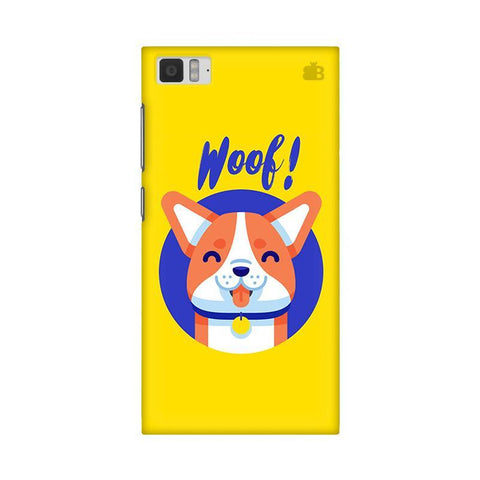 Woof Xiaomi Mi 3 Phone Cover