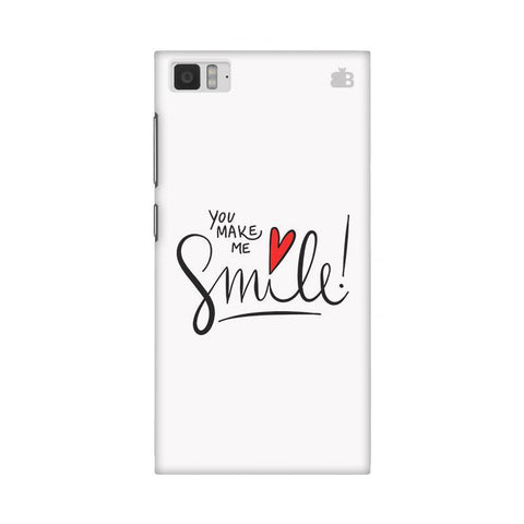 You make me Smile Xiaomi Mi 3 Phone Cover