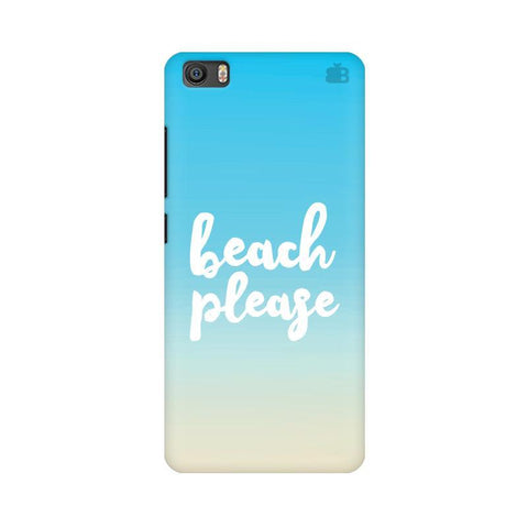 Beach Please Xiaomi Mi 5 Phone Cover