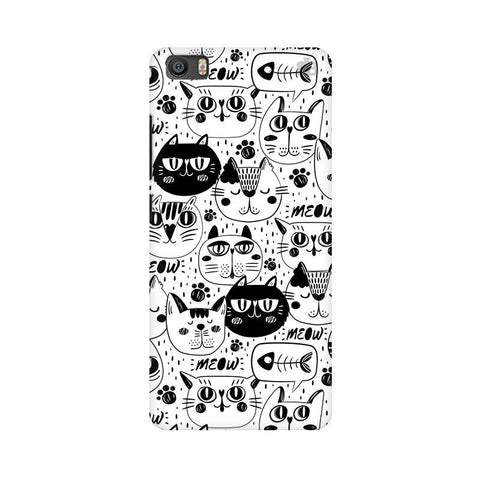 Cute Cats Pattern Xiaomi Mi 5 Phone Cover