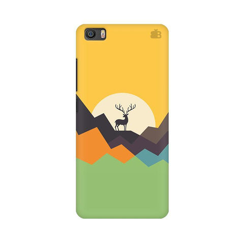 Deer in Mountains Xiaomi Mi 5 Phone Cover