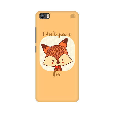 Dont give a Fox Xiaomi Mi 5 Phone Cover
