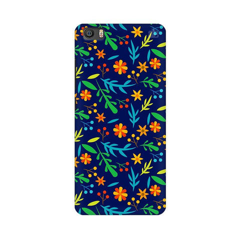 Vibrant Floral Pattern Xiaomi Mi 5 Phone Cover