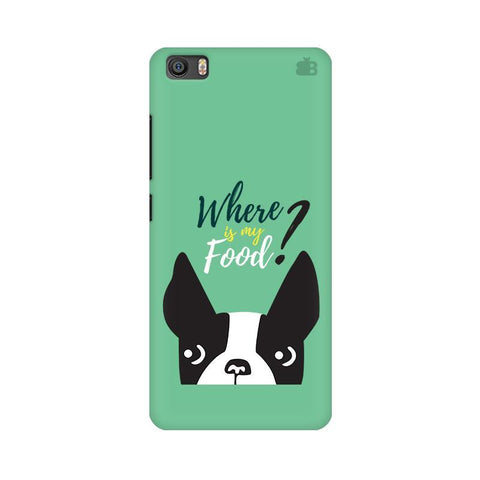 Where is my Food Xiaomi Mi 5 Phone Cover