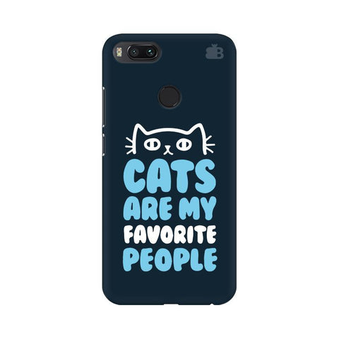 Cats favorite People Xiaomi Mi A1 Phone Cover