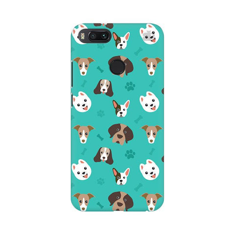 Doggie Pattern Xiaomi Mi A1 Phone Cover