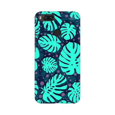 Tropical Leaves Pattern Xiaomi Mi A1 Phone Cover