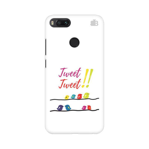 Tweet Tweet Xiaomi Mi A1 Phone Cover