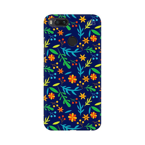 Vibrant Floral Pattern Xiaomi Mi A1 Phone Cover