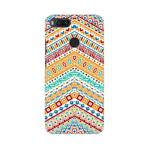 Wavy Ethnic Art Xiaomi Mi A1 Phone Cover