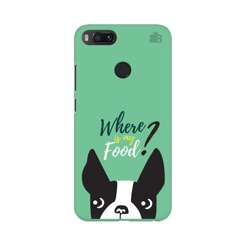 Where is my Food Xiaomi Mi A1 Phone Cover