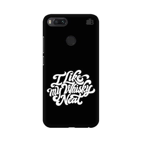 Whiskey Neat Xiaomi Mi A1 Phone Cover