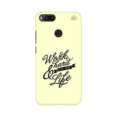 Work Hard Xiaomi Mi A1 Phone Cover