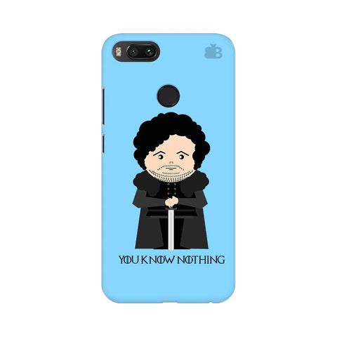 You Know Nothing Xiaomi Mi A1 Phone Cover
