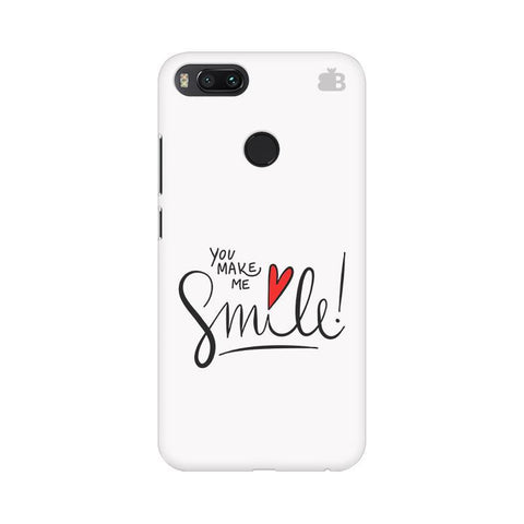 You make me Smile Xiaomi Mi A1 Phone Cover