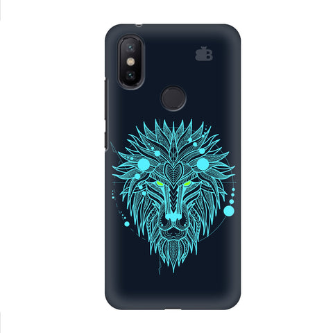 Abstract Art Lion Xiaomi Mi A2 Cover