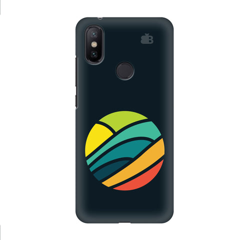 Abstract Circle Xiaomi Mi A2 Cover