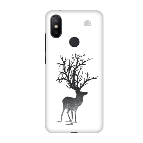 Abstract Deer Xiaomi Mi A2 Cover