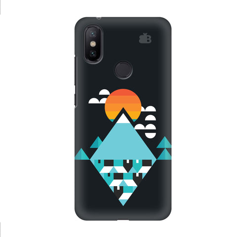 Abstract Mountains Xiaomi Mi A2 Cover