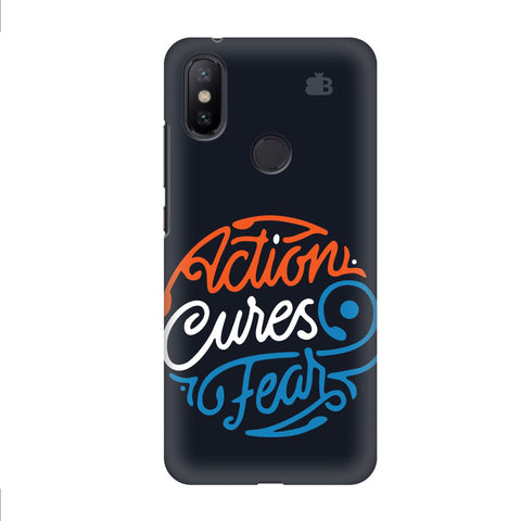 Action Cures Fear Xiaomi Mi A2 Cover