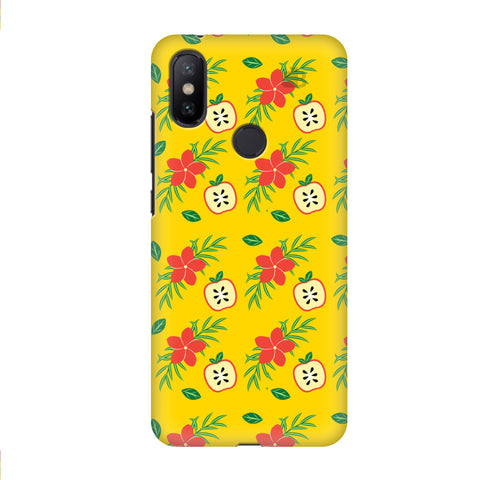 Apples & Flowers Xiaomi Mi A2 Cover