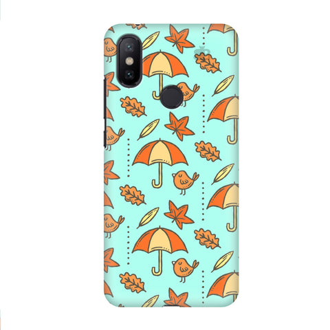 Birds & Umbrellas Xiaomi Mi A2 Cover