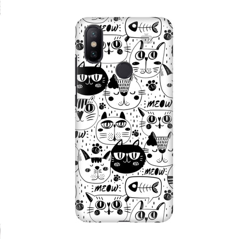 Cute Cats Pattern Xiaomi Mi A2 Cover