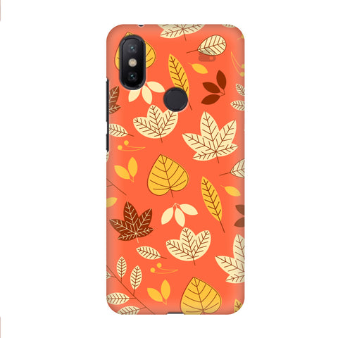 Cute Leaves Pattern Xiaomi Mi A2 Cover