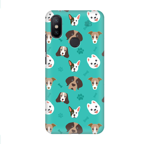 Doggie Pattern Xiaomi Mi A2 Cover