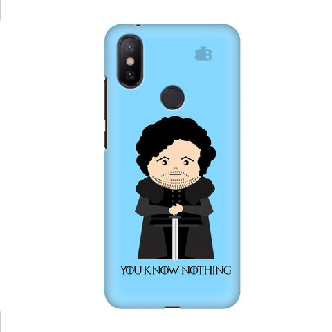 You Know Nothing Xiaomi Mi A2 Cover