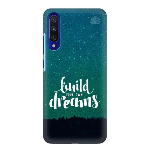 Build Your Own Dreams Xiaomi Mi A3 Cover