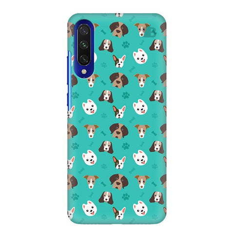 Doggie Pattern Xiaomi Mi A3 Cover