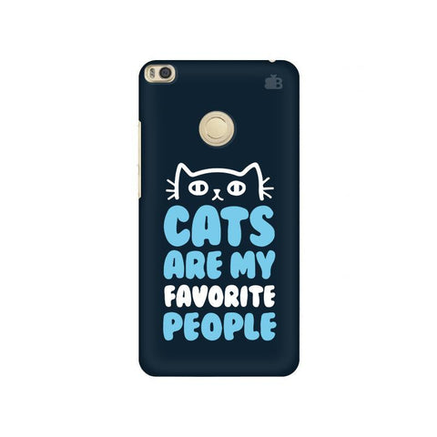 Cats favorite People Xiaomi Mi Max 2 Phone Cover