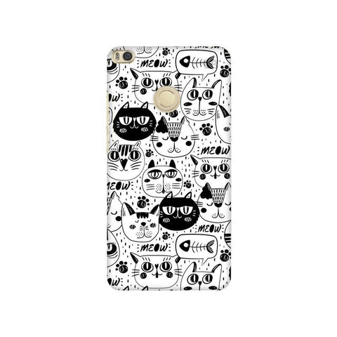 Cute Cats Pattern Xiaomi Mi Max 2 Phone Cover