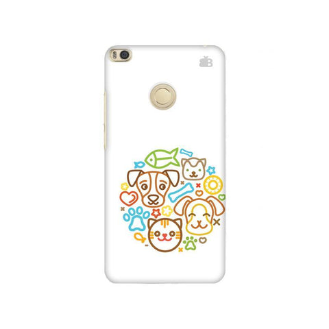 Cute Pets Xiaomi Mi Max 2 Phone Cover
