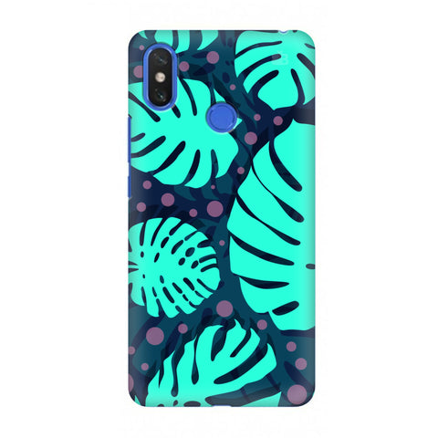 Tropical Leaves Pattern Xiaomi Mi Max 3 Cover