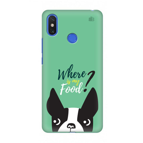 Where is my Food Xiaomi Mi Max 3 Cover
