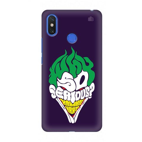 Why So Serious Xiaomi Mi Max 3 Cover